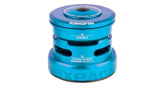 Sixpack Kingpin-R Steuersatz ZS49/28.6 I EC49/30 light blue